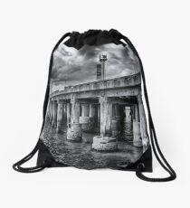 Cunningham Pier Drawstring Bag