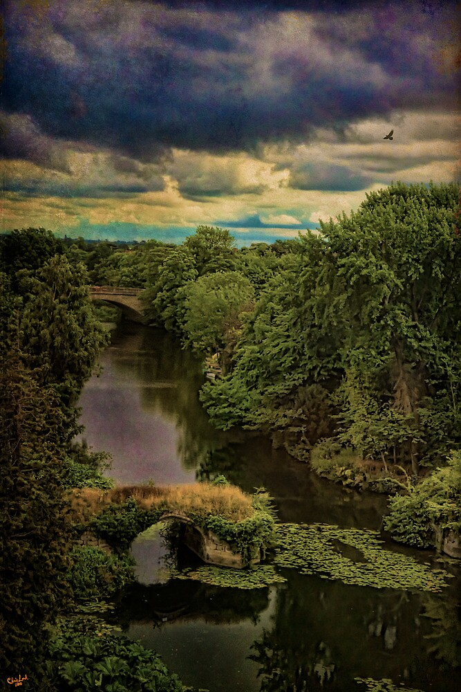 Dark Skies Over The Avon by Chris Lord