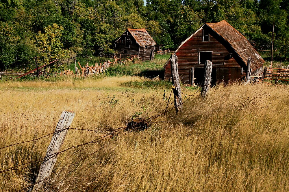 """"""" Old Farmstead """" by fortner"""