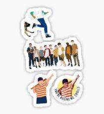 The sandlot 4 pack  Sticker