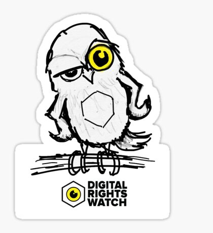 Who watches the watchers? Sticker
