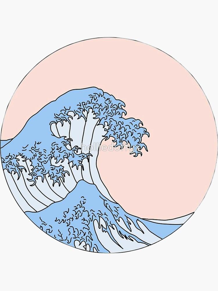 waves graphic de hollieduffyx