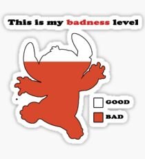 Stitch Badness Sticker