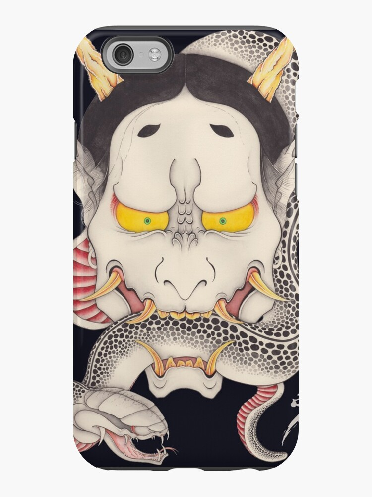 hannya and snake by yakudo-kan