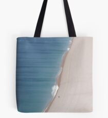 Man on the Sands Tote Bag