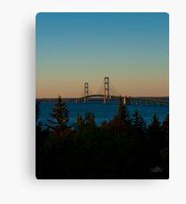 Mackinac Bridge 100410 Canvas Print