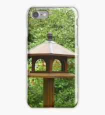 Lonely bird house iPhone Case/Skin