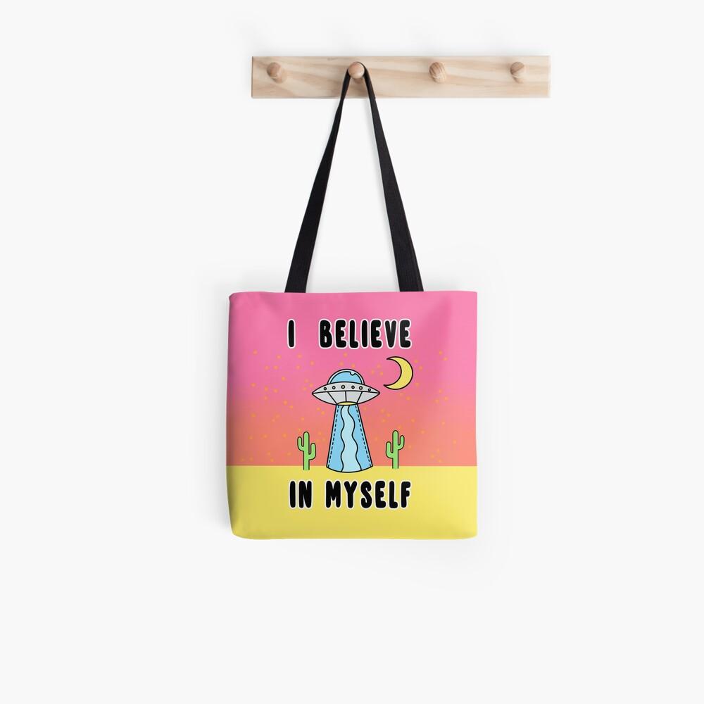 I Believe In Myself - The Peach Fuzz Tote Bag
