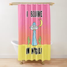 I Believe In Myself - The Peach Fuzz Shower Curtain