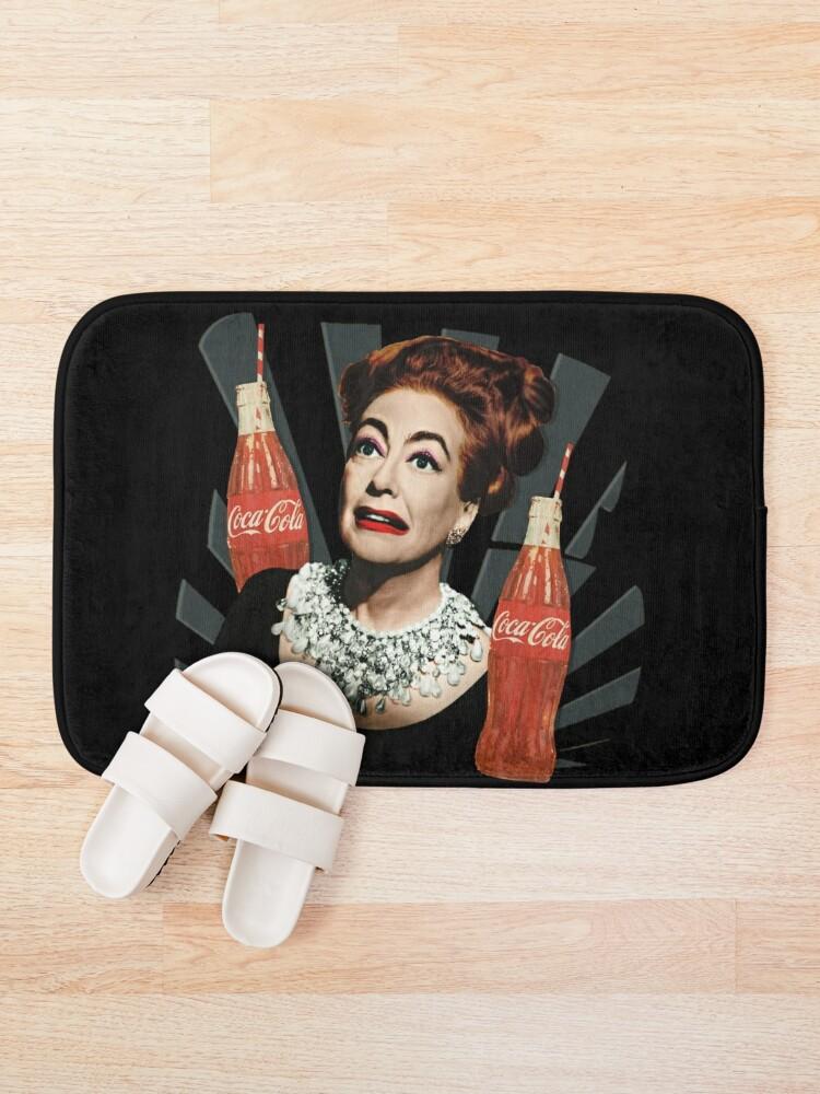 Alternate view of Joan Crawford Coca-Cola Bath Mat