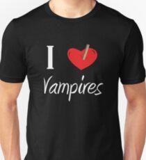 I Love Hunting Vampires Unisex T-Shirt