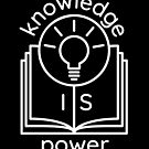 knowledge is power  by kislev