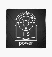 knowledge is power  Scarf