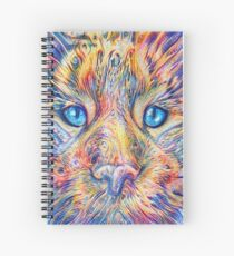 DeepDreamed Spiral Notebook