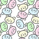 Pastel Cats by cozyreverie