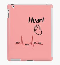 Body parts human heart geek funny nerd iPad Case/Skin
