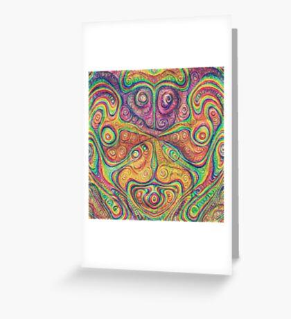 Alien deep dreams Greeting Card