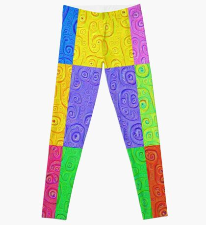 Deep Dreaming of a Color World 2K 2 Leggings