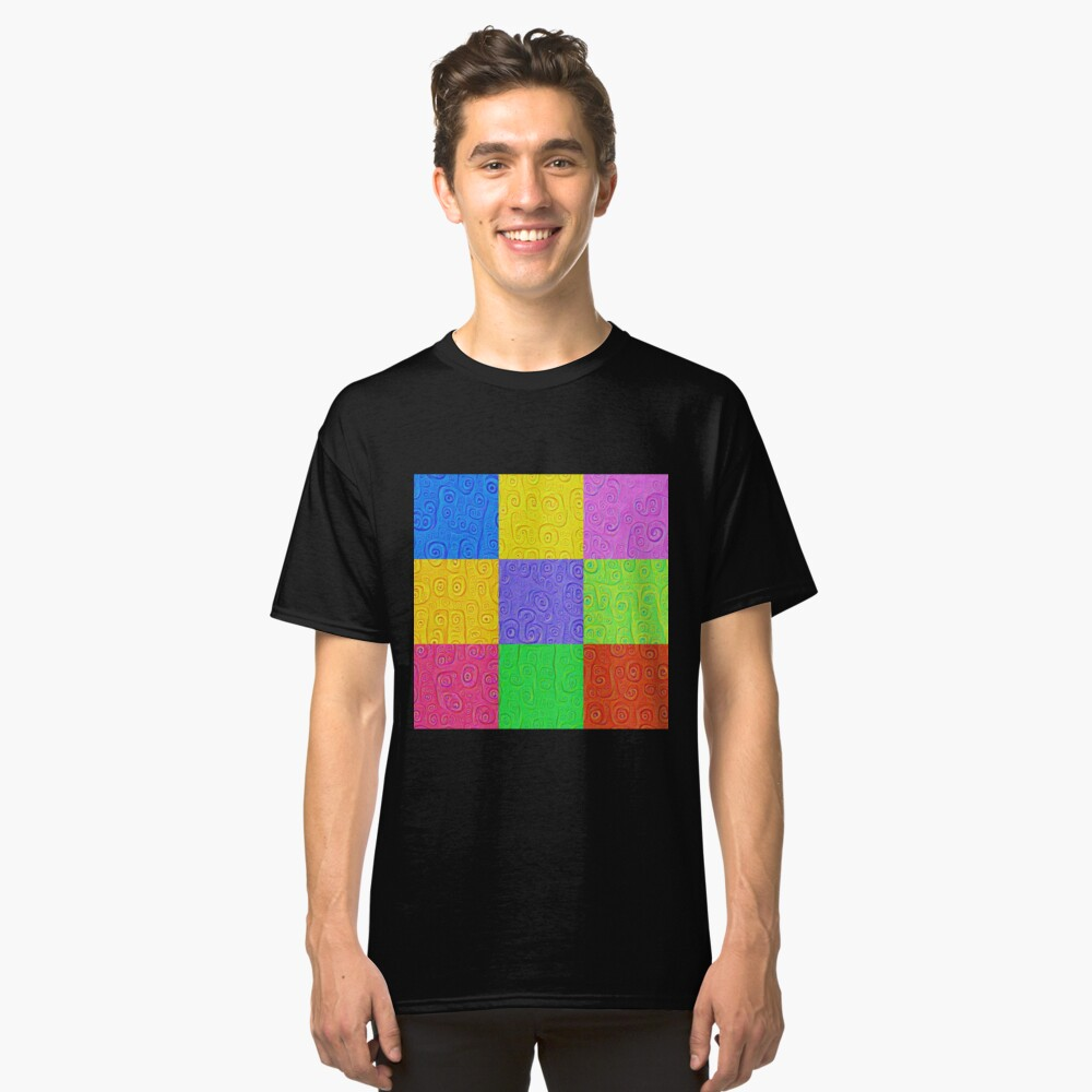 Deep Dreaming of a Color World 2K 2 Classic T-Shirt