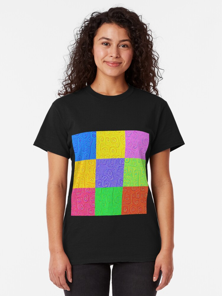 Alternate view of Deep Dreaming of a Color World 2K 2 Classic T-Shirt
