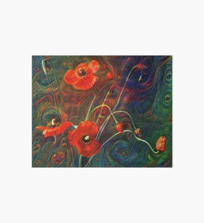 Poppies Art Board Print