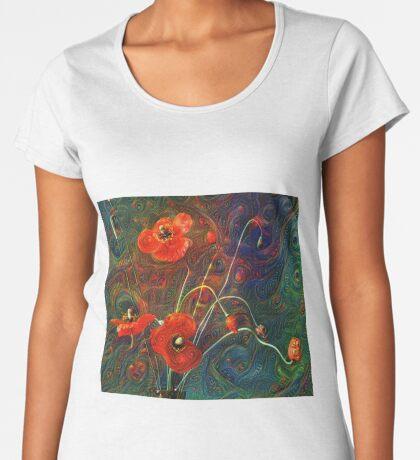 Poppies Premium Scoop T-Shirt