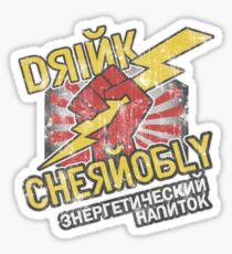 Chernobly Energy Drink Sticker