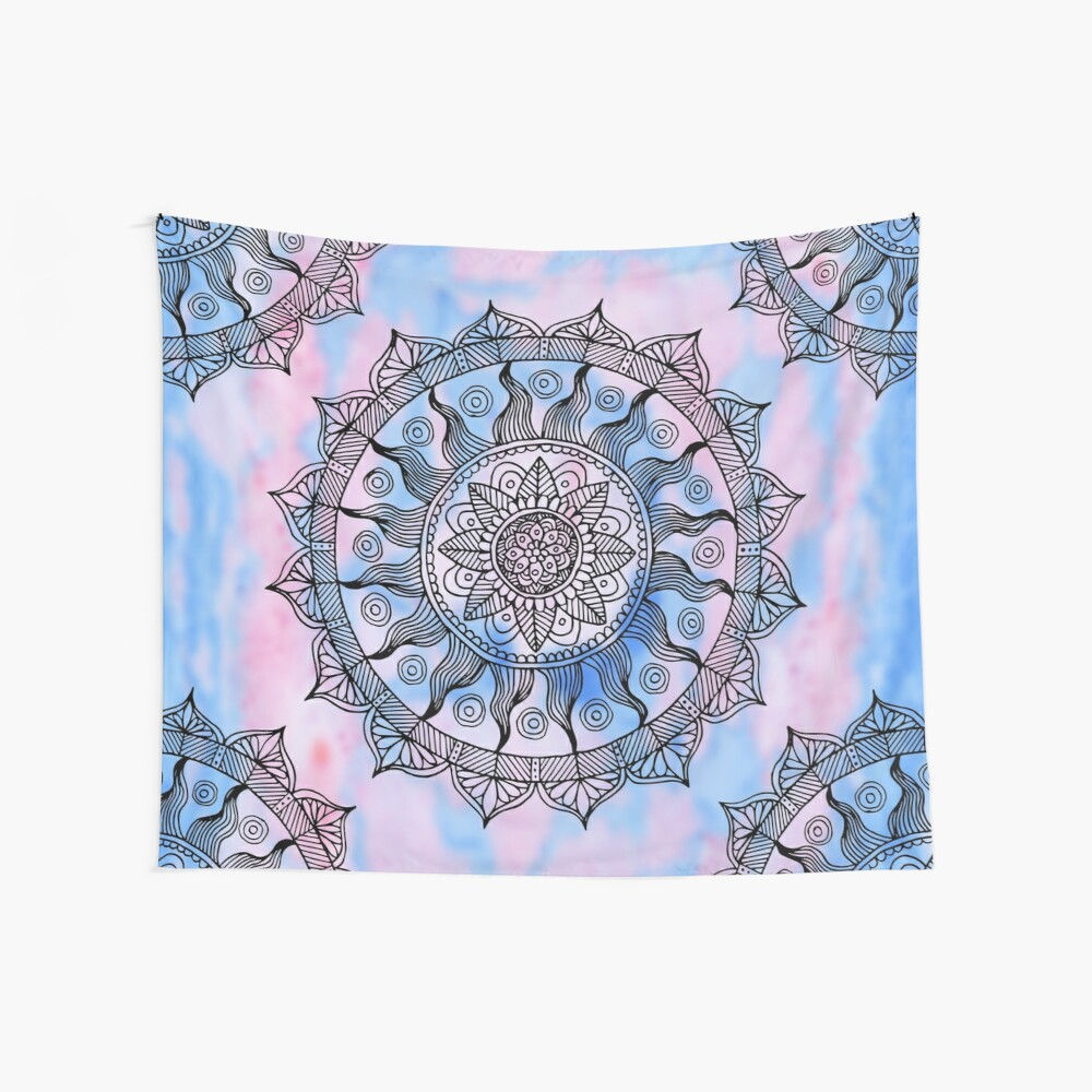 Moroccan Mandala  Wall Tapestry