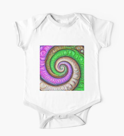 Fibonacci spiral #DeepDream #Art Kids Clothes