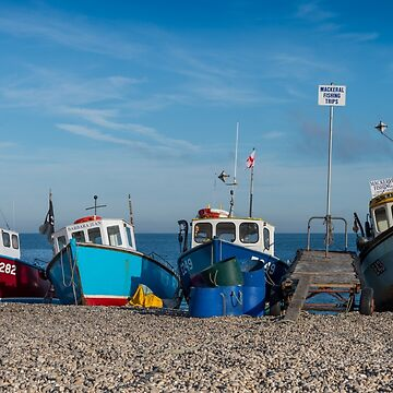 Four Fishing Boats by bms-photo
