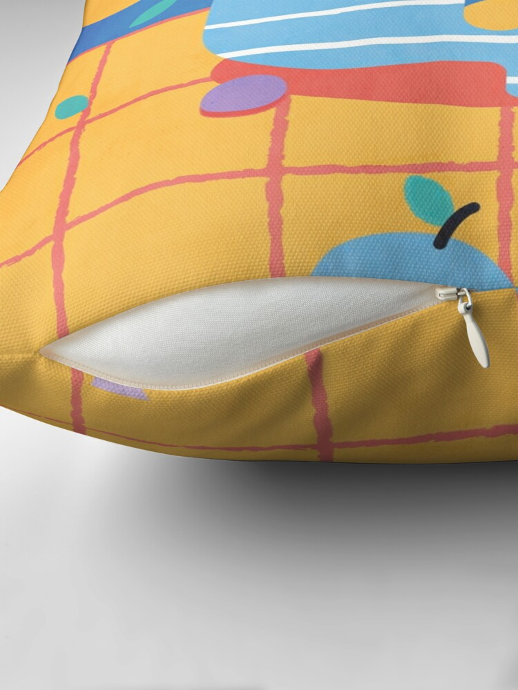 Alternate view of Skull Fruit Bowl Floor Pillow