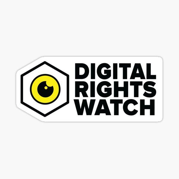Digital Rights Watch Sticker