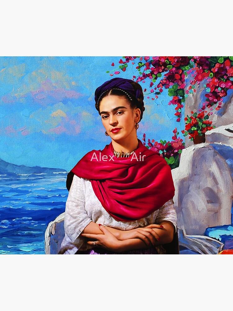 Frida Kahlo and sea ⛔ HQ-quality by AlexAir