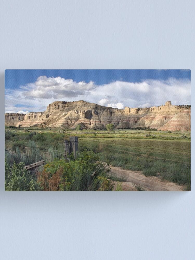 Alternate view of Dirt Road Wanderings l Canvas Print
