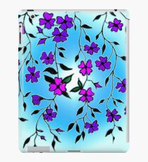 Purple Blooms  iPad Case/Skin