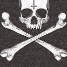«Jolly Roger Invertido Cruz» de Garyck Arntzen