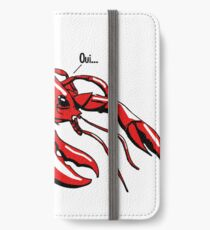 Lobster iPhone Wallet/Case/Skin