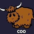 Heilan' Coo – white text by thingsinjars