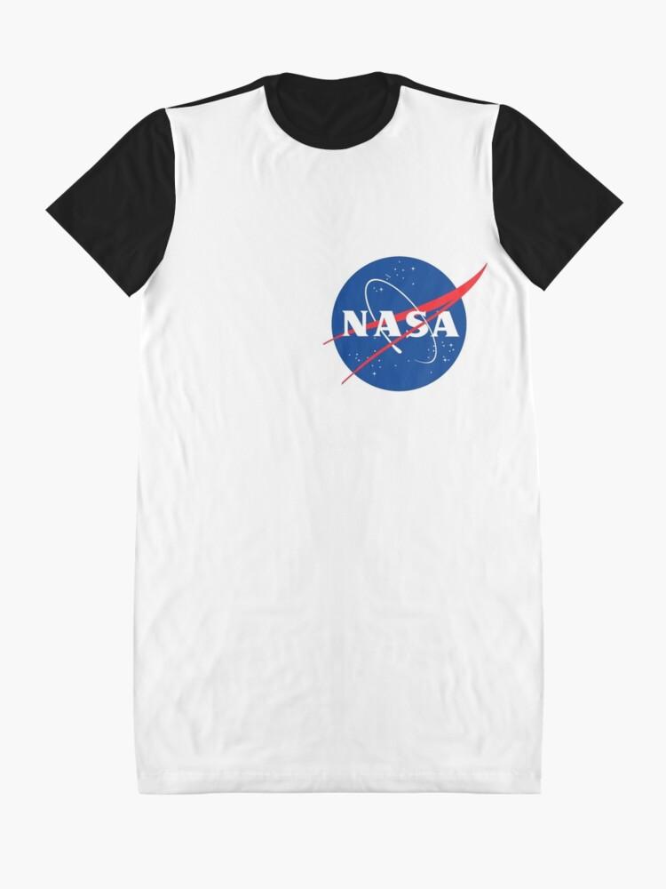 Alternative Ansicht von Offizielle Nasa T-Shirt Kleid