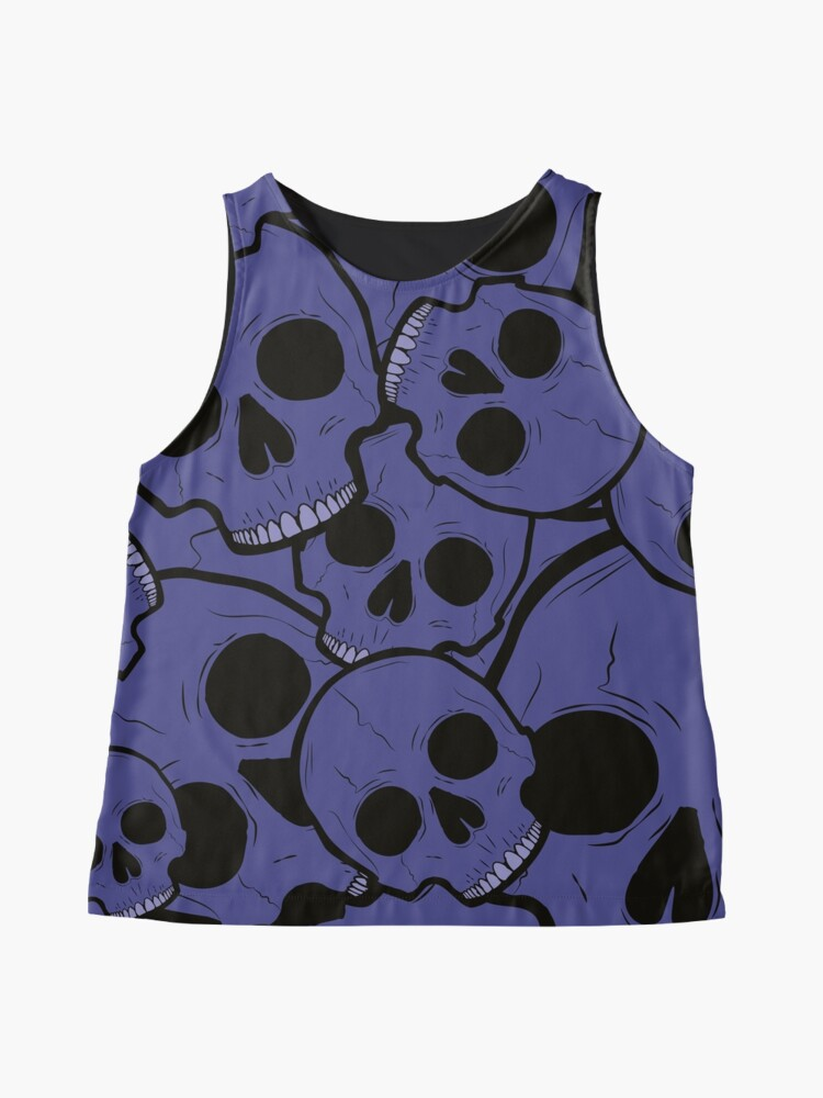 Alternate view of Pile of Skulls Sleeveless Top