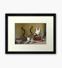 Culture Collection Framed Print