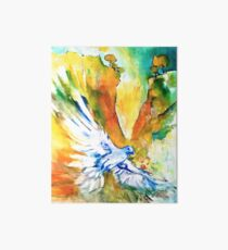 Holy Spirit Dove Art Board Print