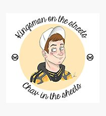 Kingsman on the Streets, Chav in the Sheets Photographic Print