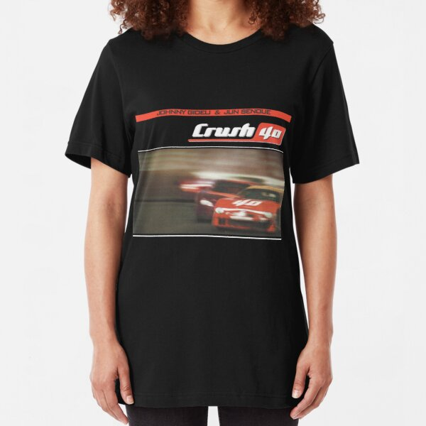 "Crush 40 - ""Car"" album cover Slim Fit T-Shirt"