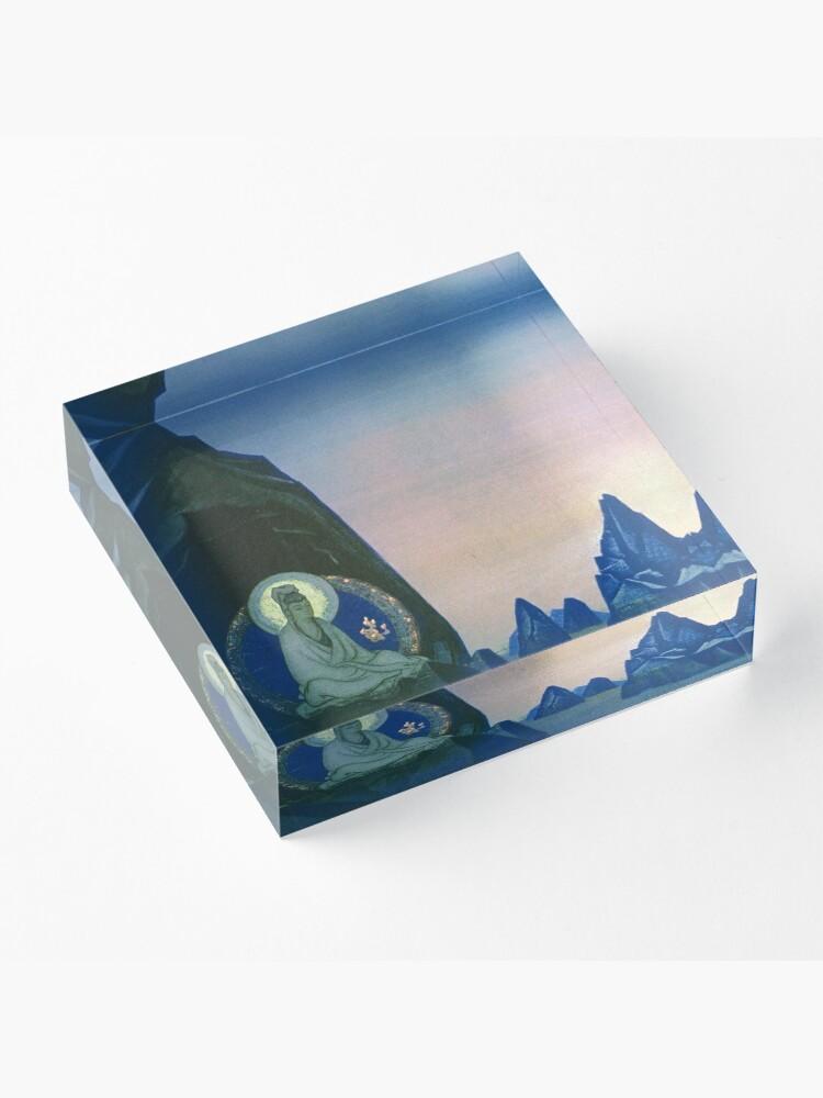 Alternate view of  Agni Yoga  - Nicholas Roerich Acrylic Block