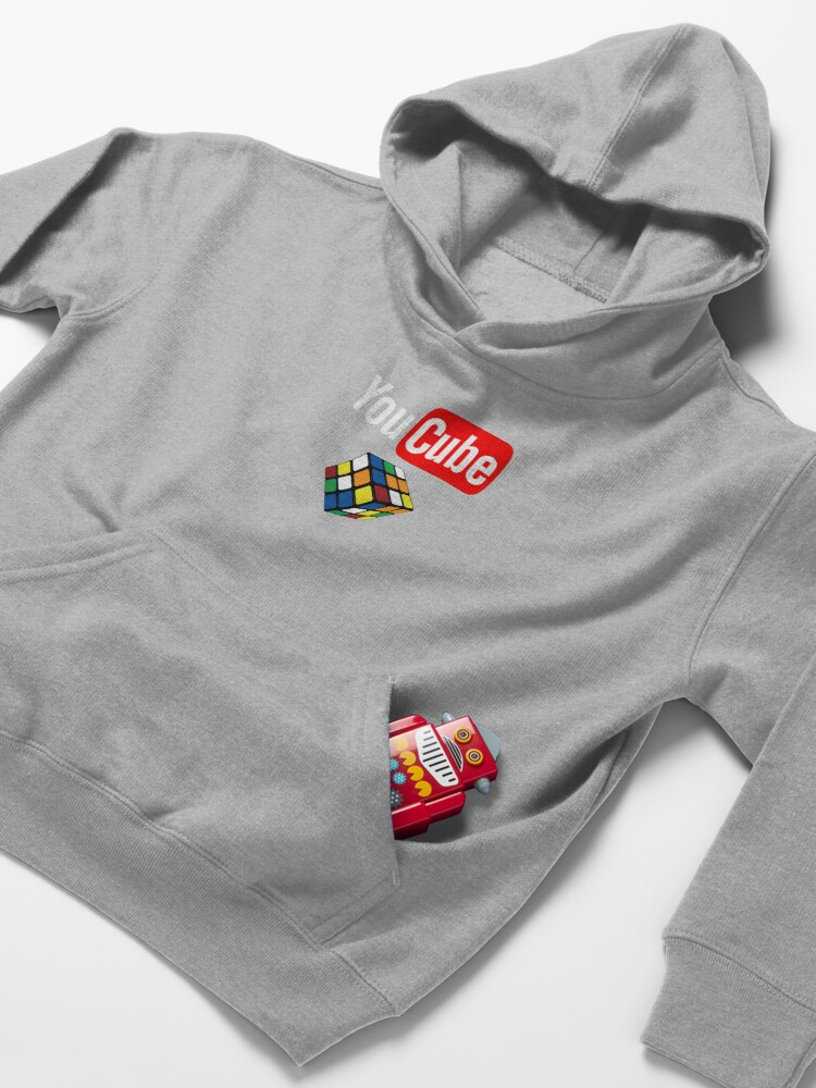 Alternate view of You Cube Shirt Puzzle Cube Shirt Kids Pullover Hoodie