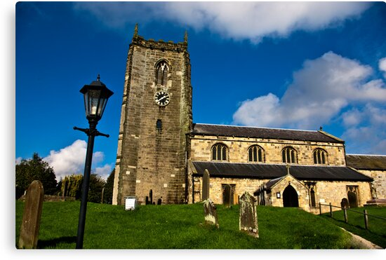All Saints Church - Nafferton, East Yorkshire by Trevor Kersley