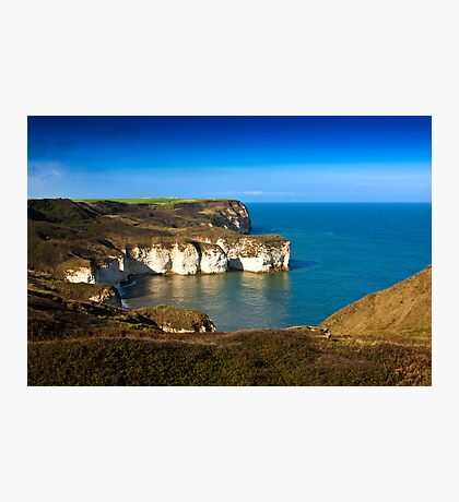 Coastal View Flamborough Head - East Yorks. Photographic Print