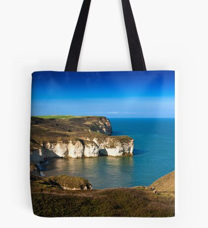 Coastal View Flamborough Head - East Yorks. Tote Bag
