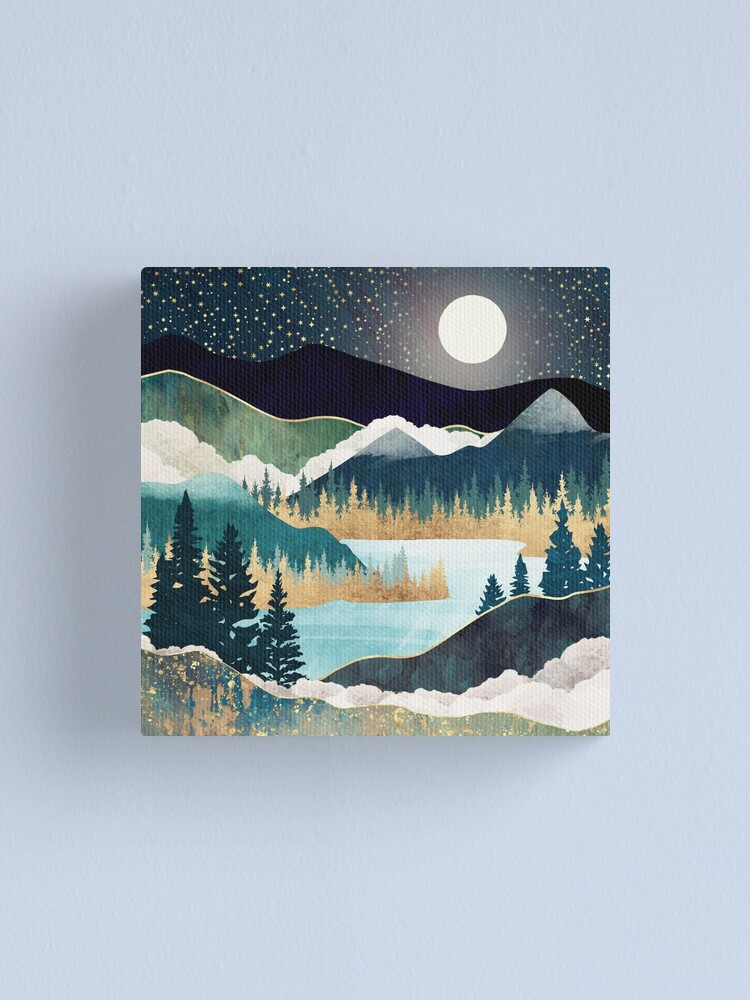 Alternate view of Star Lake Canvas Print